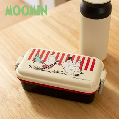 MOOMIN(ムーミン) ランチボックス 電子レンジ対応のお弁当箱