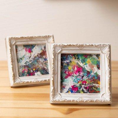 cHiYako お洒落なインテリアになる水彩画 小さめサイズで飾りやすい卓上の水彩画
