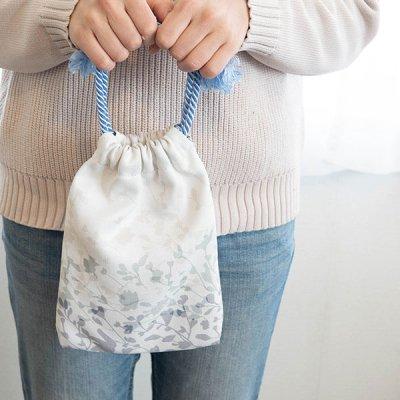 HANA 花柄巾着バッグ 巾着タイプの小物入れ