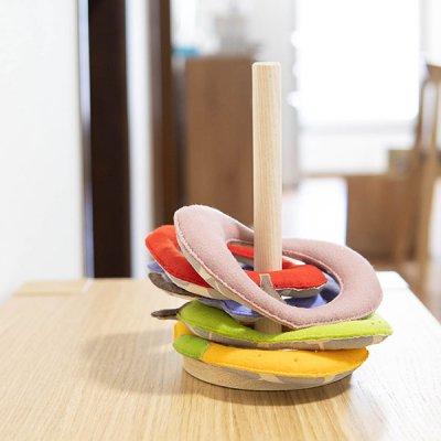 M hario マーケット フルーツモチーフの輪投げ 親子で楽しめる玩具