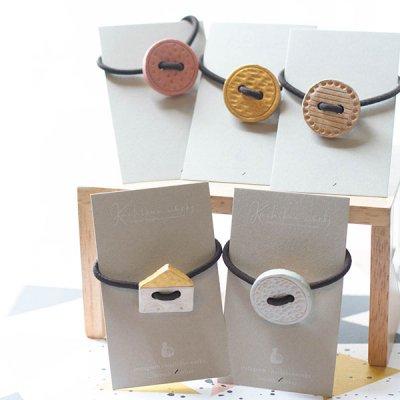 ★kuchibueworks(クチブエワークス) 陶器ヘアゴム