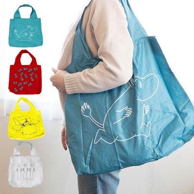 MOOMIN(ムーミン) ラージエコバッグ コンパクトになるショッピングバッグ