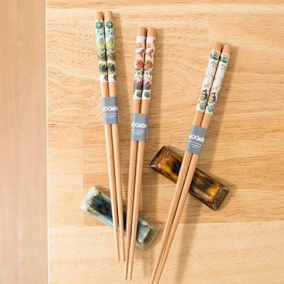 MOOMIN(ムーミン) 天然木箸 日本製の木のお箸