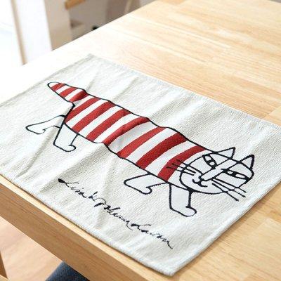 LISA LARSON(リサラーソン) ゴブラン織りランチョンマット  ゴブラン織りの高級感のあるランチマット