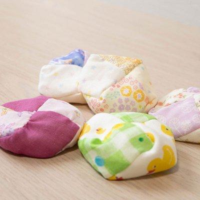 ぴぺたぺぴた ダブルガーゼお手玉5個セット 家族で遊べる日本の伝統おもちゃ