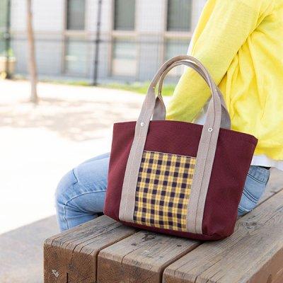 romiphoo 帆布 手持ちバッグ 帆布素材の丈夫なバッグ