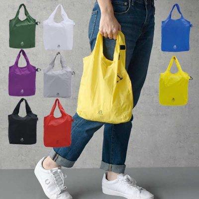 GRAM コンパクトエコバッグ(S) 軽量で折りたためる買い物バッグ ショッピングバッグ コンパクト レジバッグ 折りたたみ