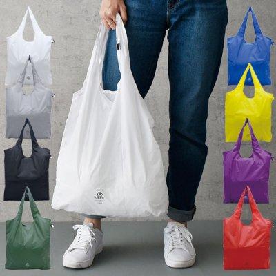 GRAM コンパクトエコバッグ(L) 軽量で折りたためる買い物バッグ ショッピングバッグ コンパクト レジバッグ 折りたたみ