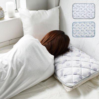 laffite 冷感ピローパッド 暑さ対策に首元ひんやり枕カバー 夏用 冷感 ひんやり 接触冷感 暑さ対策