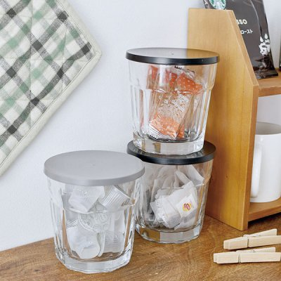 SMITH-BRINDLE ガラスキャニスター ガラス製の密閉容器 密閉瓶  キャニスター 調味料入れ 収納 保存容器 ガラス製