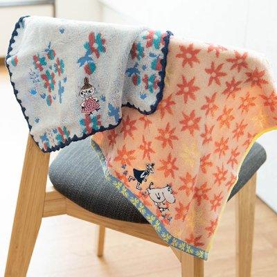 MOOMIN(ムーミン) ブルームデイズ タオルギフト 細かく刺繍された可愛いウォッシュタオルのセット
