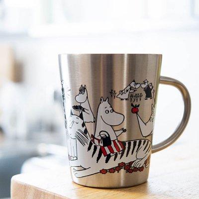 MOOMIN(ムーミン) 2重ステンレスマグ 保冷保温効果のあるマグカップ