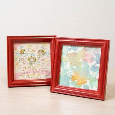 cHiYako お洒落なインテリアになる可愛い卓上水彩画 小さめサイズで飾りやすい原画