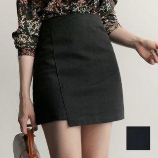 韓国 ファッション スカート ミニ ボトムス 春 夏 秋 カジュアル PTX5266  アンバランス かわいい ガーリー ショート オルチャン シンプル 定番 セレカジ