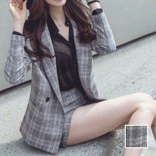 韓国 ファッション パンツ セットアップ パーティードレス 結婚式 お呼ばれドレス 春 秋 冬 パーティー ブライダル PTX6774  カジュアルジャケット ショートパンツ 二次会 セレブ きれいめ