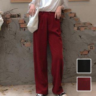 韓国 ファッション パンツ ボトムス 春 夏 カジュアル PTXE604  ハイライズ 腰高 2タック ワイドストレート パーティー オフィス オルチャン シンプル 定番 セレカジ