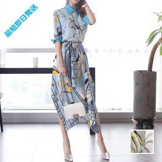 【即納】韓国 ファッション ワンピース パーティードレス ひざ丈 ミディアム 春 夏 パーティー ブライダル SPTXF023 結婚式 お呼ばれ リゾートワンピース ハワイ  二次会 セレブ きれいめ