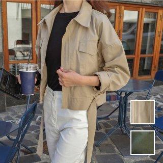 韓国 ファッション アウター ブルゾン 春 夏 秋 カジュアル PTXJ604  ナチュラルテイスト オーバーサイズ キレイ目 オルチャン シンプル 定番 セレカジ