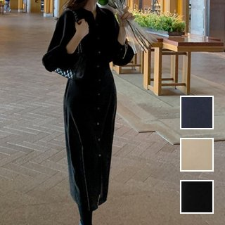 韓国 ファッション ワンピース 春 秋 冬 カジュアル PTXJ735  ドルマンスリーブ シャツワンピ Yライン オルチャン シンプル 定番 セレカジ