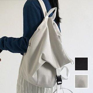 韓国 ファッション バックパック リュック 春 夏 カジュアル PTXK202  ワンショルダー ボディバッグ 帆布 布バッグ オルチャン シンプル 定番 セレカジ