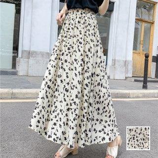 韓国 ファッション スカート ボトムス 春 夏 カジュアル PTXK714  シアー シフォン マキシ ドレープ 着回し オルチャン シンプル 定番 セレカジ