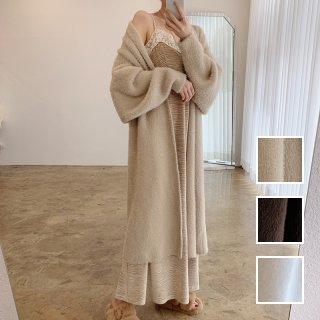 韓国 ファッション アウター コート 秋 冬 カジュアル PTXL593  ガウンコート ロングカーディガン コーディガン オルチャン シンプル 定番 セレカジ