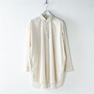 Dulcamara<br />トレンチシャツ<br />#Off White/Blue