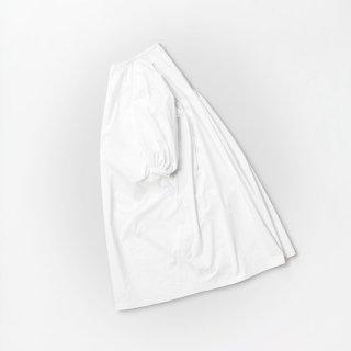 souwa - ギャザーワイドシャツワンピ<br />#White