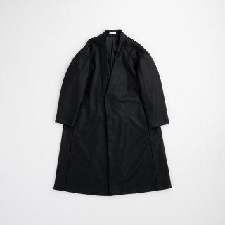 souwa - ワイドウールコート<br />#Black