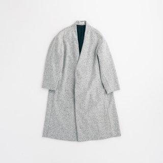 souwa - ワイドウールコート<br />#Mix Grey