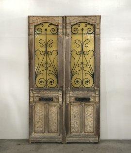 Pair of French iron Doors