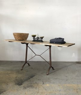 Iron Leg Display Table