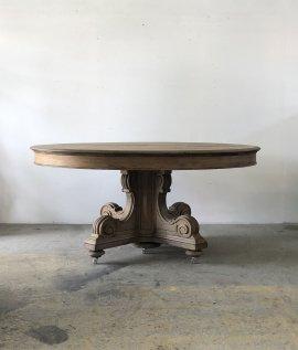 Pedestal Oak Oval Tabel