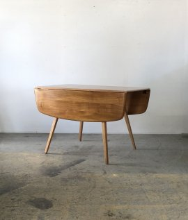 ERCOL dropleaf dining table