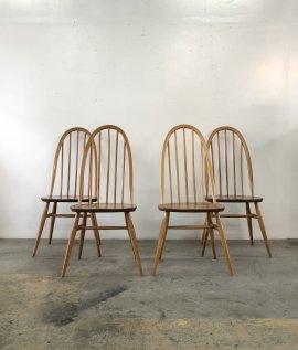 ERCOL Quaker Chair 4set