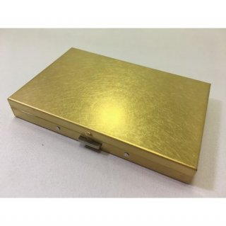【PICUS】BRASS BOX CARDCASE+  SOLID