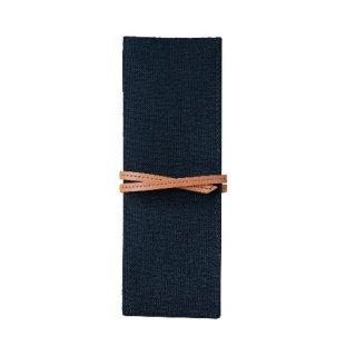 【TOTONOE】 Pen Case 3pockets  Black(ブラック)