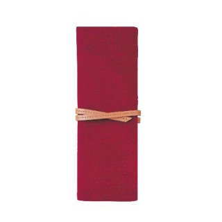 【TOTONOE】 Pen Case 3pockets RED(レッド)