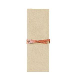 【TOTONOE】 Pen Case 3pockets  Cream(クリーム)