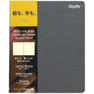 【Maruman】マルマン  ノート  グリフィー   B6変型(アンチークレイド紙) 無地