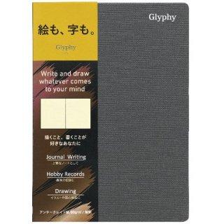 【Maruman】マルマン  ノート  グリフィー   A6(アンチークレイド紙) 無地