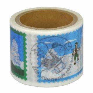 【九ポ堂】マスキングテープ  雲の上郵便局・雲の上百景その2