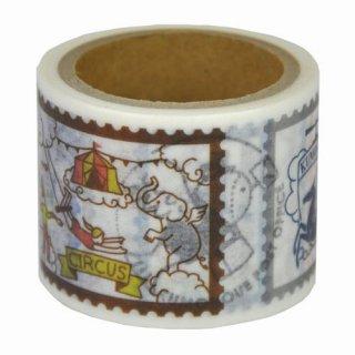 【九ポ堂】マスキングテープ  雲の上郵便局・雲の上王国