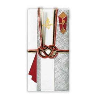 【ホールマーク】ご祝儀袋  寿スリム男銀色  ご結婚御祝 / たとう