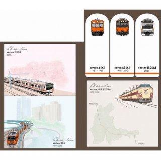 【ポポンデッタ】 鉄道クロニクル  中央線  スティッキーブック