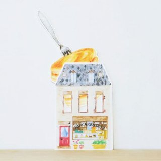 【rala desing】パンケーキ メッセージカード