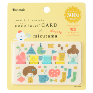【カンミ堂】ココフセンカード×mizutama ガールM