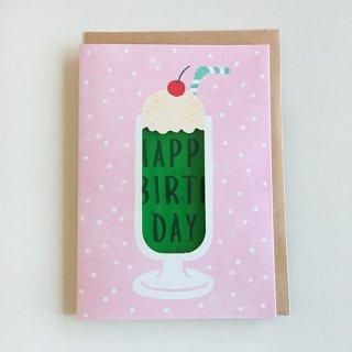 【Green Flash】Birthday Card (メロンクリームソーダ)