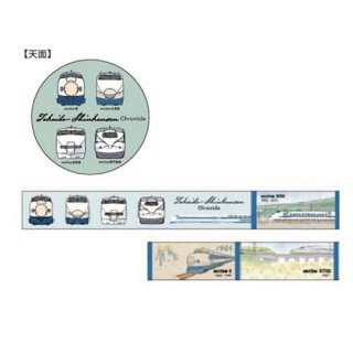 【ポポンデッタ】 鉄道クロニクル  東海道新幹線  マスキングテープ【ラスト1個】