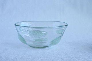 泡水玉 / 丸鉢 / 小 - 吹きガラス工房 一星 -